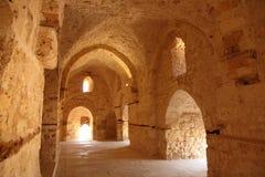 Het Kasteel Alexandrië van Qaetbay Stock Afbeeldingen