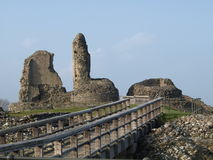 Het kasteel blijft royalty-vrije stock afbeeldingen