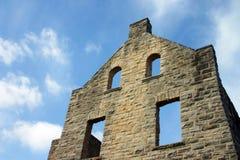 Het kasteel blijft Stock Afbeeldingen