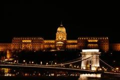 Het kasteel Buda Stock Afbeeldingen