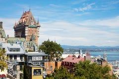 Het kasteel in Canada Stock Foto's