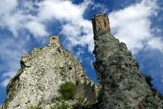 Het kasteel Devin Royalty-vrije Stock Afbeelding