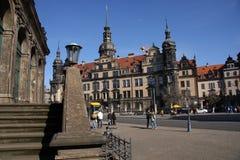 Het Kasteel in Dresden stock foto's