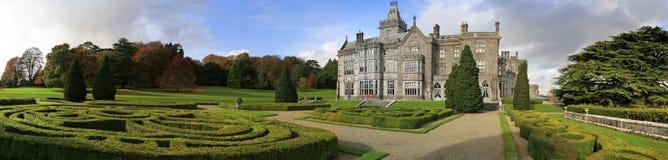 Het kasteel en de tuinen van Adare Royalty-vrije Stock Foto's