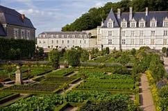 Het kasteel en het park van Valencay stock afbeeldingen