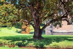 Het kasteel en het park Rosendael in Rozendaal in Nethe wordt gevestigd die Royalty-vrije Stock Afbeeldingen