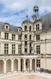 Het Kasteel Frankrijk van Chambord Stock Foto's