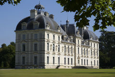 Het kasteel Frankrijk van Cheverny Royalty-vrije Stock Afbeeldingen