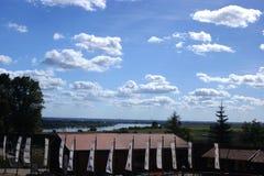 Het kasteel in Gniew Stock Fotografie