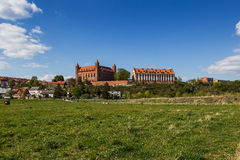 Het kasteel in Gniew, Polen Stock Fotografie