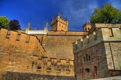 Het kasteel HDR van Hohenzollern stock fotografie