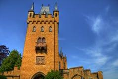 Het kasteel HDR van Hohenzollern royalty-vrije stock afbeeldingen