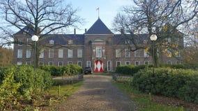 Het kasteel heeze bouwde 1665 Stock Fotografie
