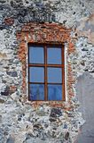 Het Kasteel ?heilige-Miklosh ?van het Chynadiyevskykasteel 14-19 eeuwen Gevestigd in het dorp van Chynadievo, Zakarpattya-gebied, stock foto