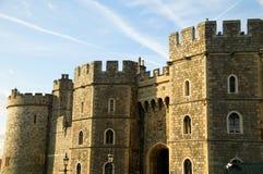 Het Kasteel Henry V111 Gateway van Windsor Stock Foto