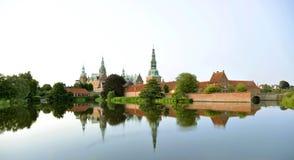 Het kasteel Hillerod, Denemarken van Frederiksborg Royalty-vrije Stock Foto's