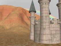 Het kasteel houdt Stock Afbeelding