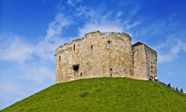 Het kasteel houdt, York Stock Afbeeldingen
