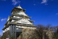 Het Kasteel Japan van Osaka Stock Afbeelding
