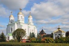 Het kasteel-klooster Zymne in de Oekraïne Stock Foto's