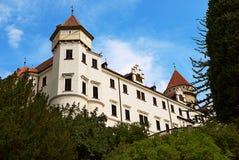Het kasteel Konopiste Stock Foto's
