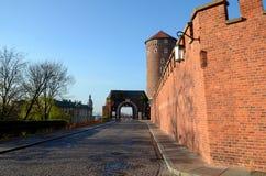 Het kasteel in Krakau Wawel Royalty-vrije Stock Fotografie