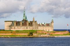Het kasteel Kronborg Stock Foto