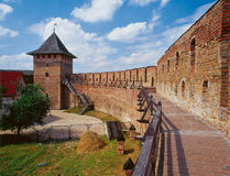 Het kasteel Lutsk Stock Foto's