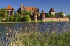 Het kasteel Malbork Royalty-vrije Stock Afbeeldingen