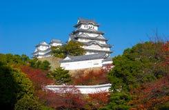 Het Kasteel Osaka, Japan van Himeji Stock Afbeelding