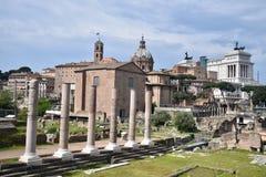 Het kasteel oude stad van Rome Royalty-vrije Stock Afbeeldingen