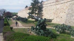 Het kasteel oude wepon van Belgrado Royalty-vrije Stock Fotografie