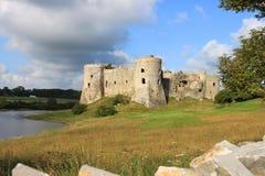 Het Kasteel Pembrokeshire van Carew Stock Foto's