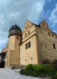 Het kasteel in Quedlinburg Stock Afbeeldingen