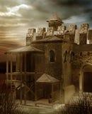 Het kasteel ruïneert 2 Royalty-vrije Stock Afbeeldingen