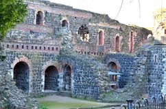 Het kasteel ruïneert Keizer Kaiserswerth Royalty-vrije Stock Foto