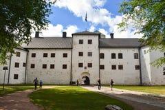 Het Kasteel ` s vestingmuur van Turku royalty-vrije stock foto