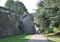 Het kasteel San Vigilio royalty-vrije stock afbeelding