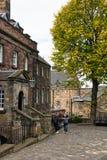Het Kasteel Schotland van Edinburgh Stock Foto's
