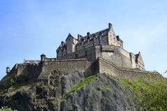Het kasteel Schotland van Edinburgh royalty-vrije stock foto's
