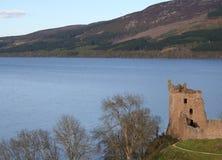 Het Kasteel Schotland van Urquart Stock Afbeeldingen