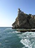 Het kasteel slikte nest, de Krim, de Oekraïne royalty-vrije stock fotografie