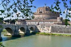 Het kasteel ST Angelo van Rome Royalty-vrije Stock Afbeelding