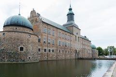 Het kasteel in Vadstena Zweden Stock Afbeeldingen