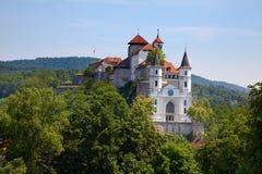 Het kasteel van Aarburg Royalty-vrije Stock Afbeelding
