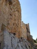 Het kasteel van Ajloun Stock Foto
