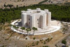 Het kasteel van Andria Stock Afbeelding