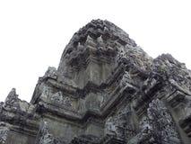 Het kasteel van Angkorwat Stock Foto's
