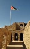 Het kasteel van Aqaba Royalty-vrije Stock Afbeeldingen
