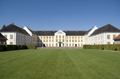Het kasteel van Augustenborg Stock Foto's